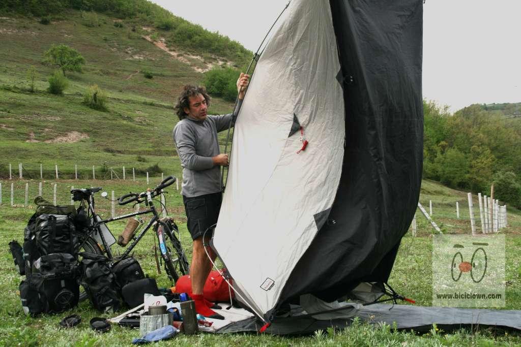 Limpiar tent