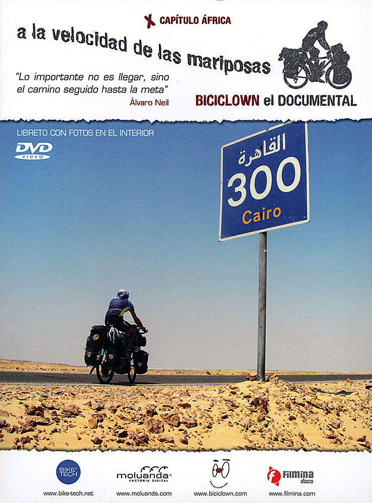 disco DVD biciclowneldocumental