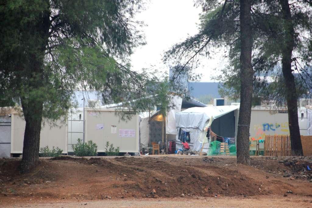 El campo de Ritsona (Foto Susana Abadin)