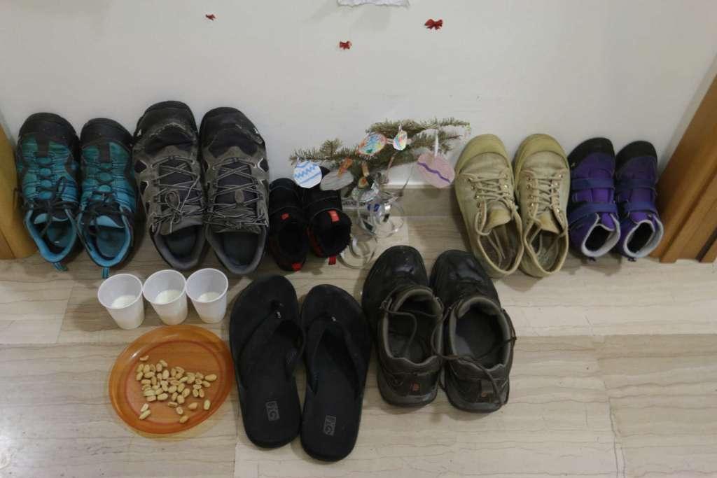 Zapatos dia de Reyes