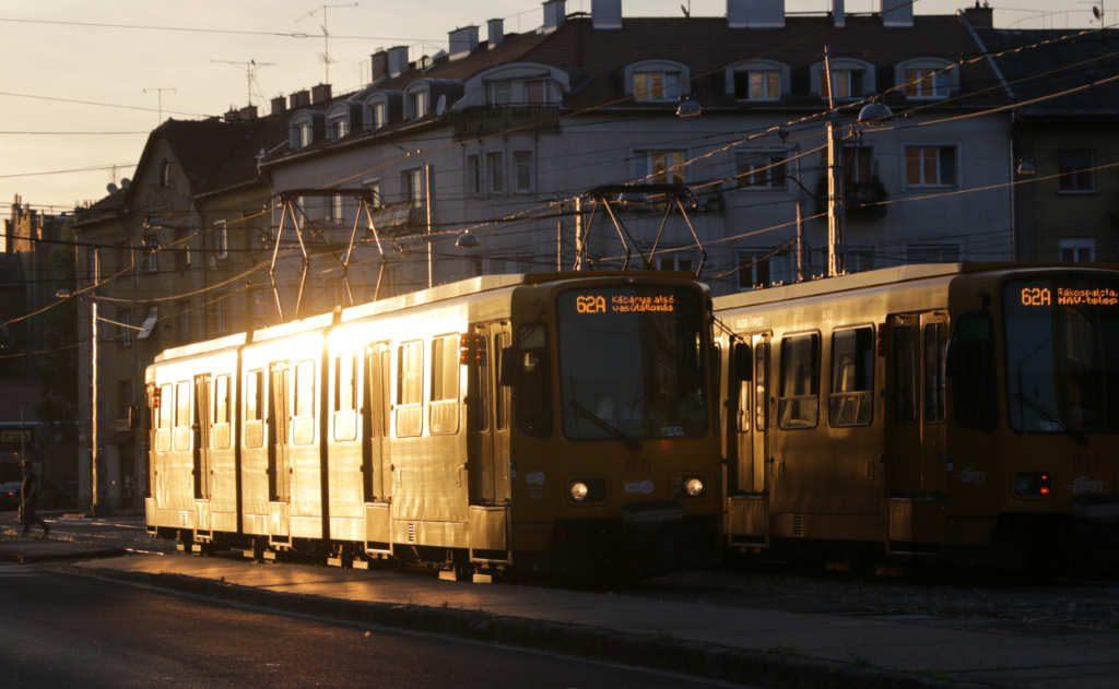 Tranvía en Budapest