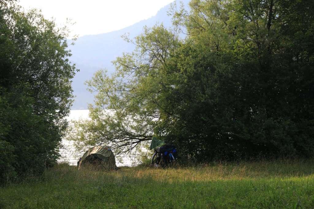 Camping lago Austria