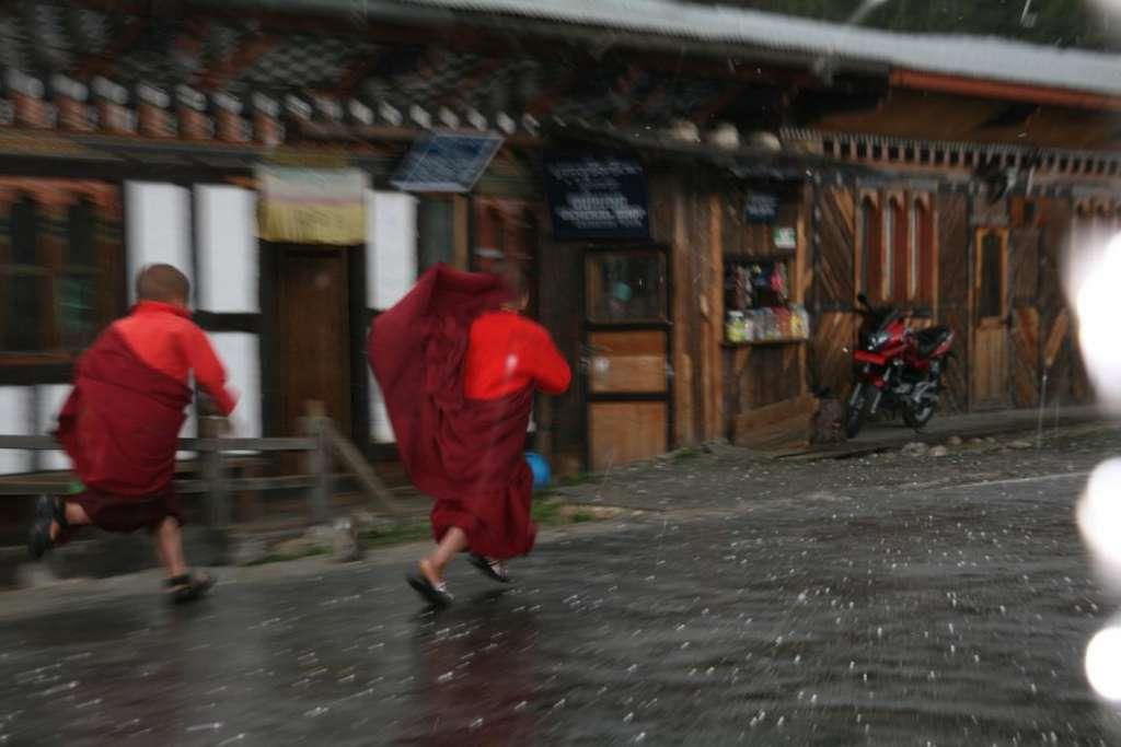 nieva corre al monasterio