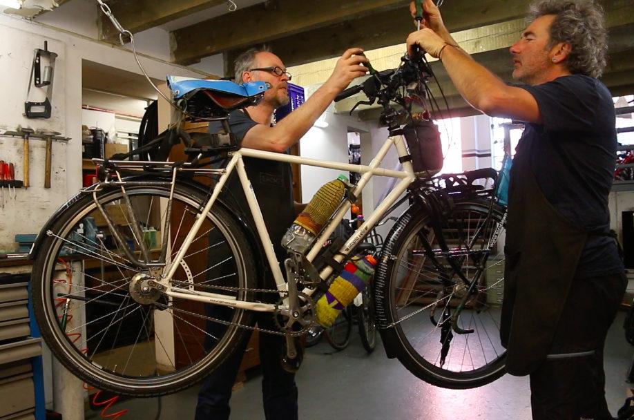 nueva bici ajustes