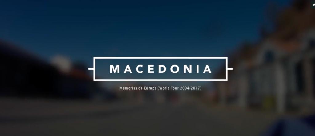 Macedonia en bicicleta