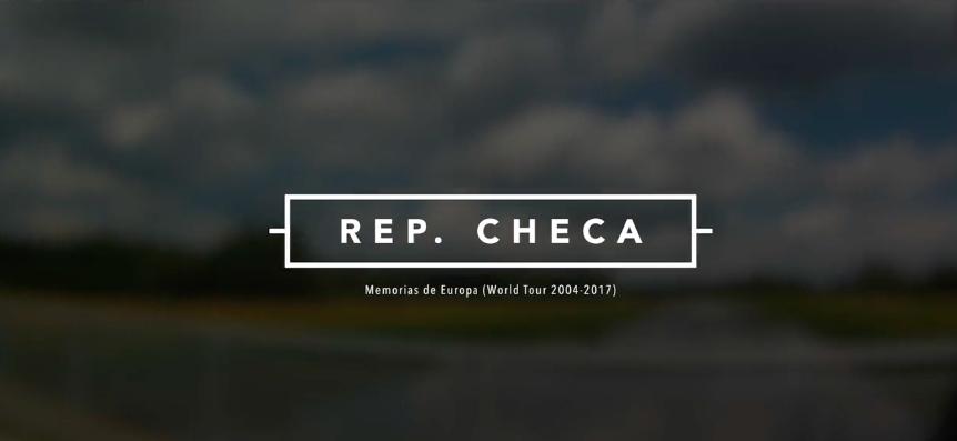 República checa en bicicleta