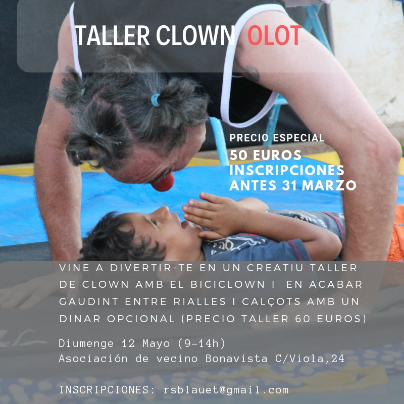 taller clown olot