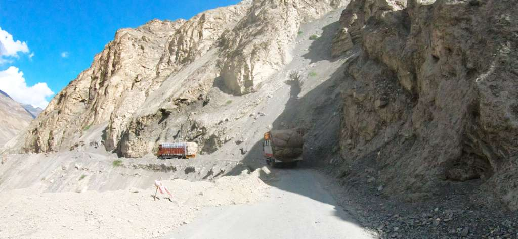 ruta camiones