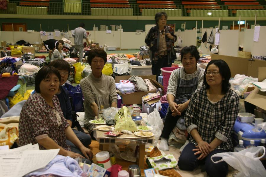 Asistentes al segundo espectáculo en Japón