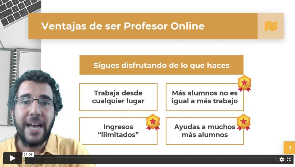 conviertete en profesor online
