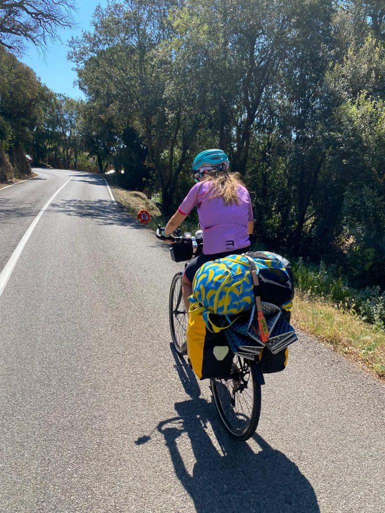 lorena en ruta