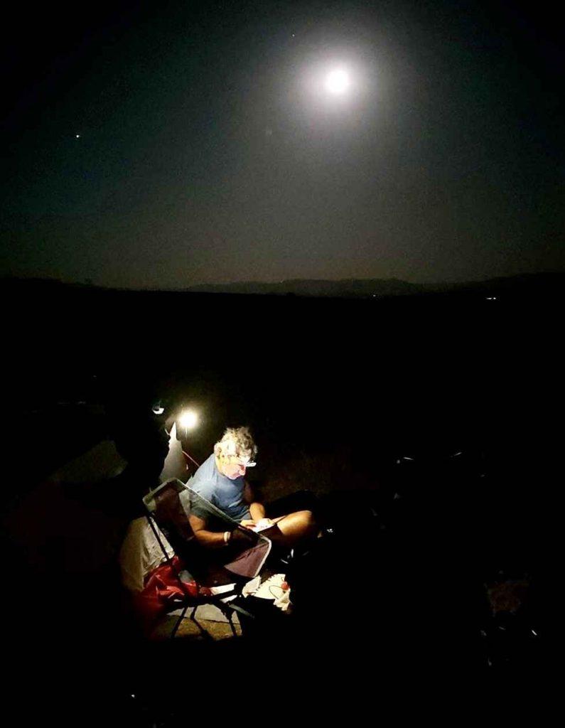 camping de noche